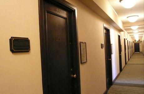 Corridor of I-House