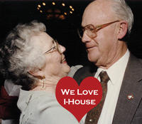 Jeanne Hoffman (IH '52-54) & Ladd R. Griffith (IH 52-55)