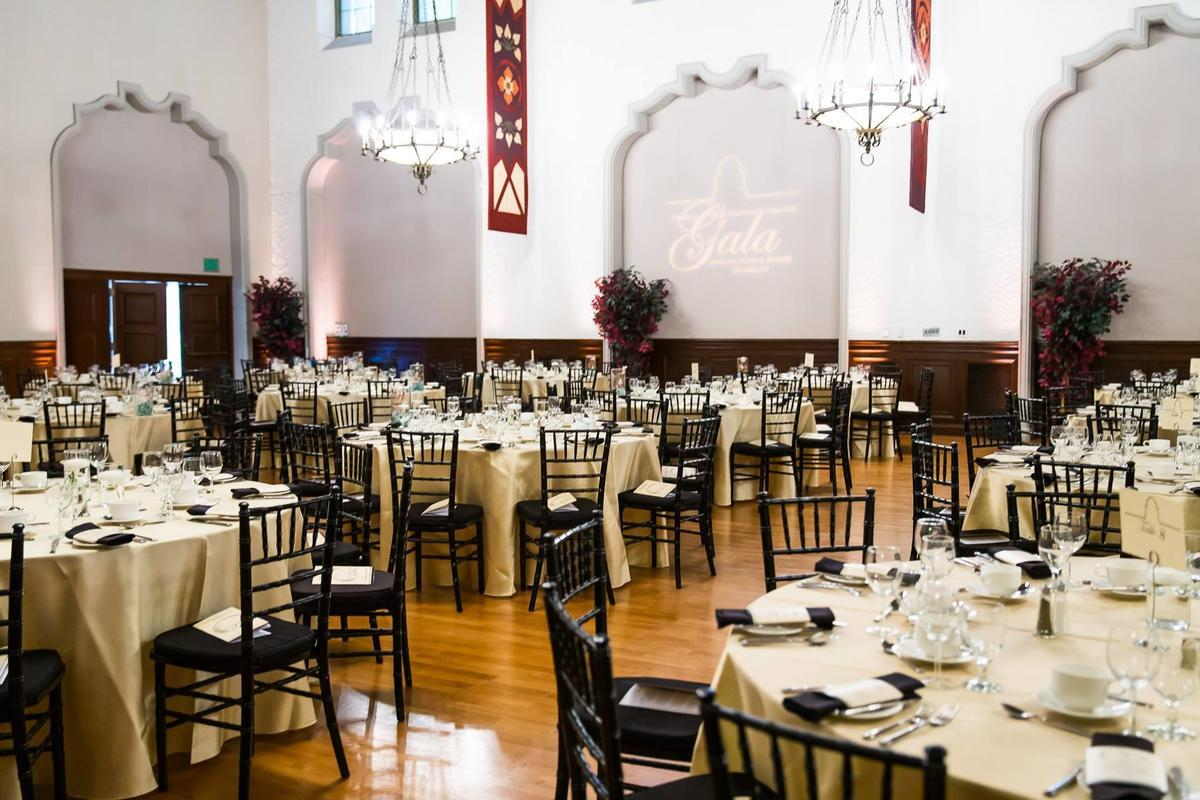 Formal Dinner in Chevron Auditorium