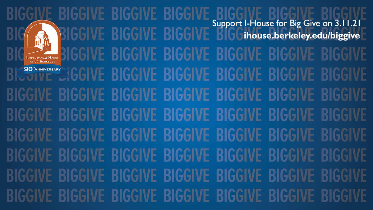 Support I-House for Big Give