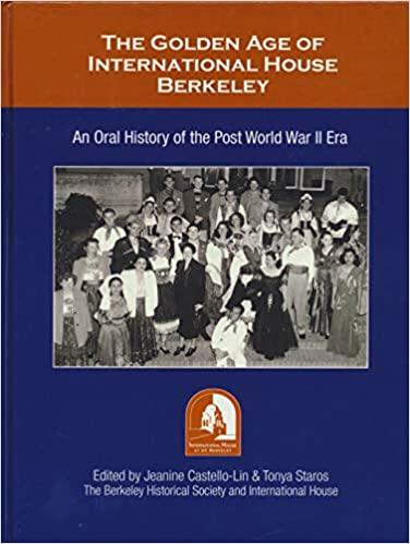 Golden Age of International House Berkeley Cover