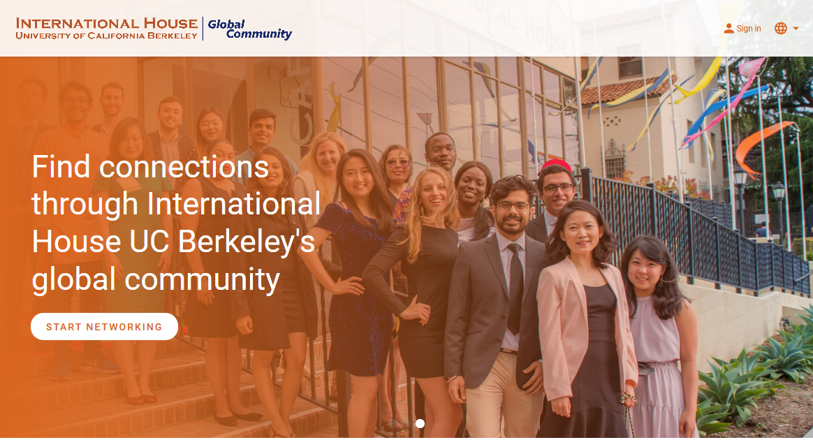 Find connections through International House UC Berkeley's global community