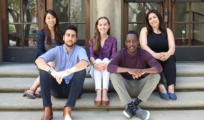 I-House Scholarship Recipients