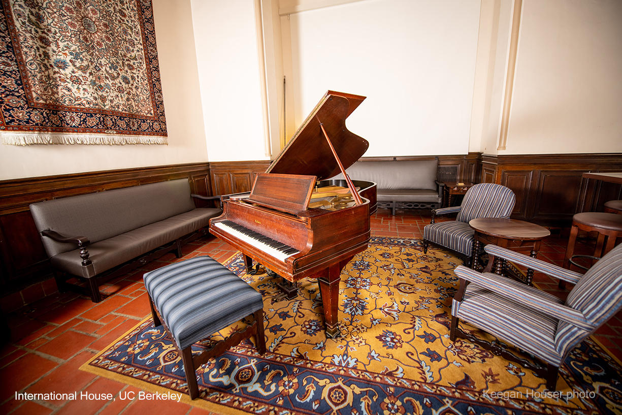 Grand Piano in the I-House Great Hall