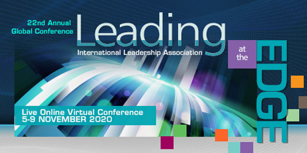 International Leadership Association's live, virtual conference