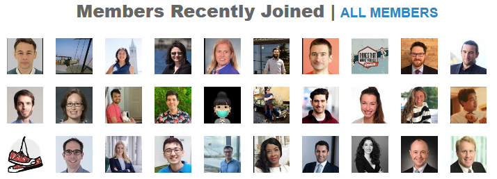 Recently Joined Members of I-House Berkeley Connect