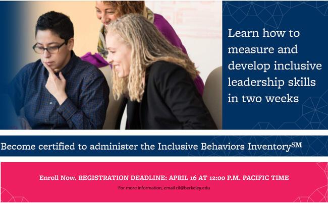 Robertson Center for Intercultural Leadership Workshop April 21-30, 2021