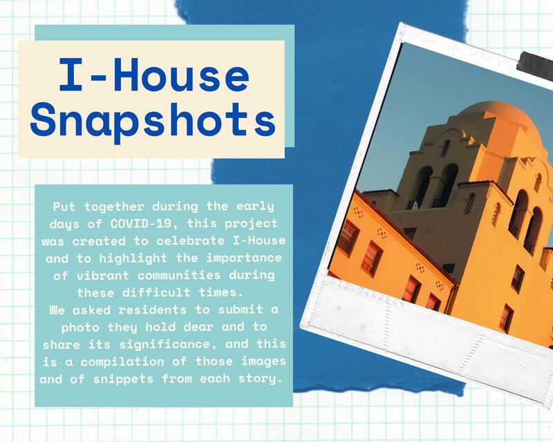 I-House Snapshots Scrapbook