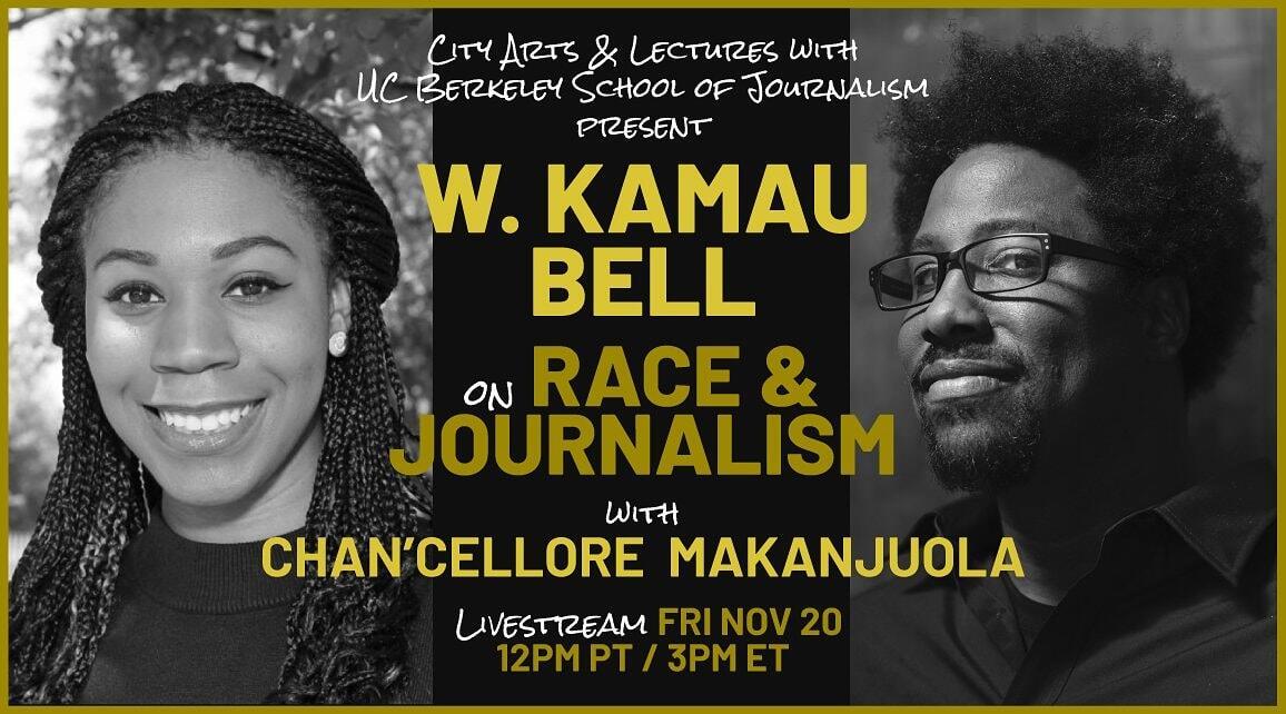 W. Kamau Bell and Chan'Cellore Makanjuola (IH 2019-20)