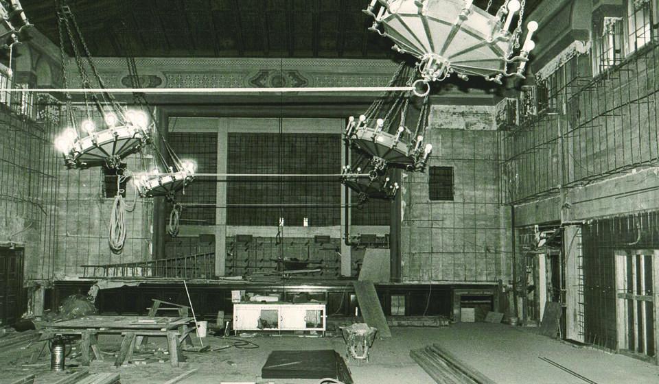 1980: Renovations