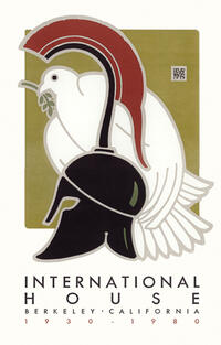 International House 50th Anniversary Goines Poster
