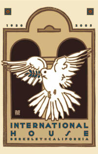 International House 75th Anniversary Goines Poster