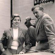 Maria Sagarna (IH 1956 - 58) and Gunnar Engen (IH 1956 - 59)