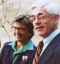 "Sheridan ""Sherry"" Warrick, I-House Executive Director (1961-87) and Betsey Warrick"