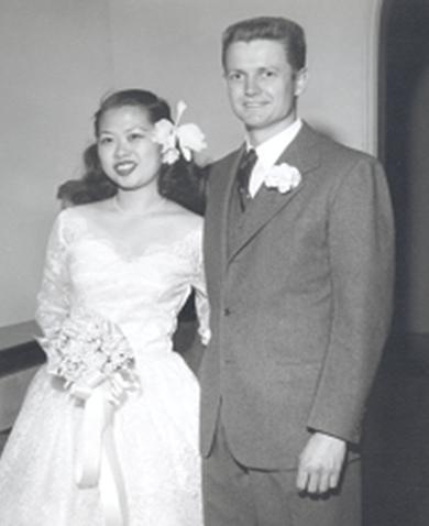 Estelle Pau-On Lau and Mason Gaffney Wedding